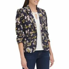 TOMMY HILFIGER Womens Floral-print One-button Lined...