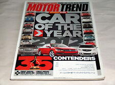 Motor Trend January 2012 Car Truck Magazine Car Of The Year VW Volkswagen Passat