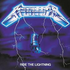METALLICA RIDE THE LIGHTNING CD ALBUM (Remastered 2016)