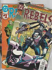 DC REBELS '94 '95 0 1 2 3 4 5 6 7 8 9 10 11 12 13 Legion Super Heroes Peyer
