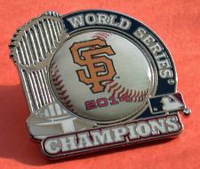 SAN FRANCISCO GIANTS WORLD SERIES CHAMPIONS 2014 TROPHY PIN