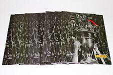 Panini CHAMPIONS OF EUROPE 2005/2006 - 10 x LEERALBUM EMPTY ALBUM NOT MINT VGC!