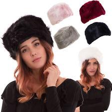 Colbacco donna cappello berretto ecopelliccia elegante sexy caldo nuovo YF-0125