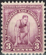 US 10th Summer Olympics Los Angeles stamp MNH 1932