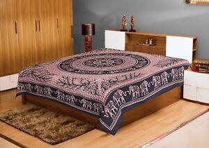 Mandala Hippie Tapestry Wall Hanging Bedspread Throw Queen Bohemian