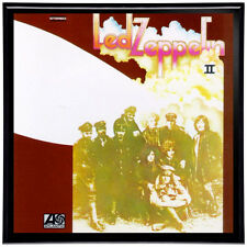 Led Zeppelin II Framed 12' LP Artwork inc. Vinyl Record