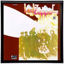 Led Zeppelin II Framed 12' LP Artwork inc. Vinyl Record