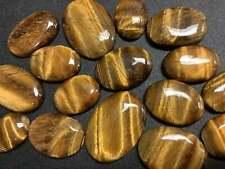 Bulk Wholesale Cabochon Lot 50 Grams ( 3 to 6 pcs ) - Tigers Eye - Polished