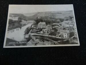 Looking to Neidpath from Church Spire Peebles Postcard - 39619
