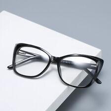 Cat Eye Oversized Computer Blue Light Blocking Glasses Plano Reading Glasses