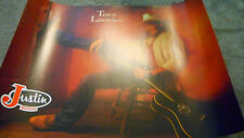 Vintage Tracy Lawrence Justin Boots Promo Poster