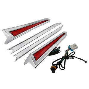Pair LED Saddlebag Extension Light For Victory Hard-Ball 12-13 Cross Roads 10-14