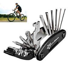 Réparation de vélos outil de vélo de poche multifonction pliant Outil 16 en 1