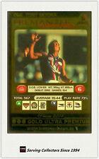 2001 AFL Teamcoach Gold Parallel Card 266 Tony Modra (Fremantle)