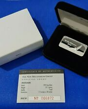 Rare Statue of Liberty Silver Ingot Bullion Bar 1oz in presentation box & COA