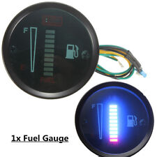 """2"""" 52mm Car Boat Motorcycle Fuel Level Meter Gauge LED Display Digital 12V VH"""