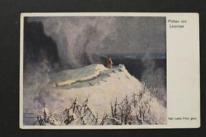 K.u.K. Künstler Karl Ludw Prinz AK Plateau v Lavarone Gebirge Alpen 1916 KuK WK