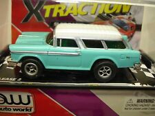 AUTO WORLD ~ '55 CHEVY NOMAD ~ SOLD OUT EVERYWHERE ~ ALSO FITS AFX, AW, JL