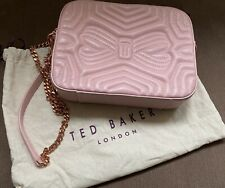Original Ted Baker Quilted Leather Cross Body Camera Bag