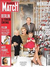 PARIS MATCH N° 3527--CHARLENE & ALBERT & PETITS/ATTENTA BERLIN/MISS FRANCE GUYAN