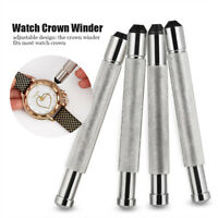 Professional 4 Sizes Watches Crown Winder Winding Watchmaker 3-4.5mm Repair Tool
