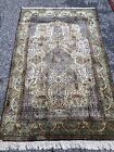 Antique Silk Oriental Rug - great condition - fine weave 3x5