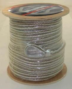 """Attwood 117590-1 Double Braid Nylon Anchor Line Rope 1/2"""" x 150 Ft Gold 22917"""