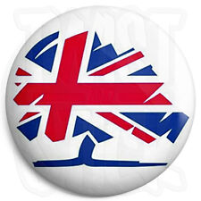 Conservative Flag - 25mm Button Badge - General Election Political Tory Party