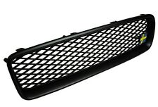 MESH Sport Grill Grille ALL MATTE BLACK for VOLVO S40 V50 2004 - 2007