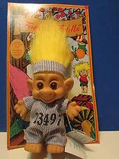 "PRISONER - 4"" Forest Troll Doll - NEW ON CARD"