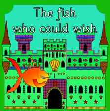 The Fish who could Wish- story teaching resource on CD- EYFS, KS1, seaside