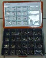 FASTENER ASSORTMENT, 18-8 STAINLESS STEEL 500+ PCS Nuts/Hex Cap Screws/Washers