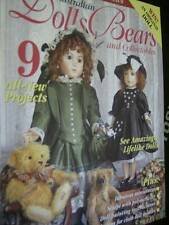 Australian Dolls Bears & Collectibles Magazine #70 -9 Projects