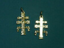 -CROCE di CARAVACA- Cruz de Caravaca  in argento 925 Sterling silver