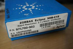 New sealed  HPLC column Agilent ZORBAX RR Eclipse XDB-C18, 80Å,  971700-902 njm