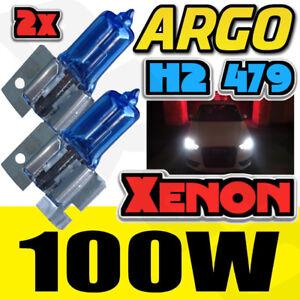 H2 479 Xénon Blanc 100w Ampoules de Phare Avant Brouillard Super Léger Hid 12v