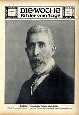 Turchi Ministro della giustizia Hussein Hilmi-Pasha c.1912