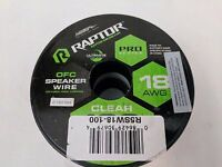 Raptor PRO SERIES - Speaker Wire Model: R5-SPKR 18 Gauge 100-Feet OFC