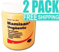2 packs MAMISAN OINTMENT UNGUENT 7.06 oz JUMBO size POMADA INFLAMATION ARTHRITIS