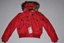 AUTHENTIC PARAJUMPERS GOBI ECO BOYS HOODED BOMBER RED YOUTH L LARGE  BRAND NEW