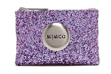 MIMCO Pouch Small Amethyst Sparks Fly Wallet Clutch Purse Bag BNWT