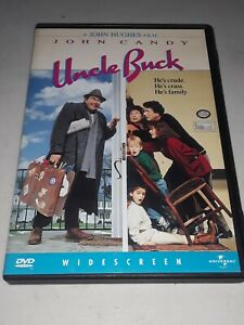 Uncle Buck (DVD, 1998, Widescreen) 1989 John Candy