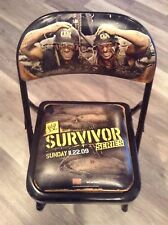 WWE 2009 Survivor Series PPV Collectible Ringside Chair Shawn Michaels  HHH  DX