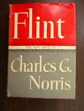 Charles G. Norris - FLINT - 1944 HC/DJ 1stEd WWII EDITION