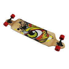 "Longboard Skateboard Drop Down 41"" Skate Board Abec 11 Wooden Complete Board"