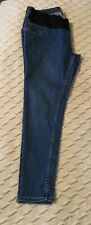 New Look Lift And Shape Under Bump Maternity Jeggings Jeans  Mid Blue Size 16