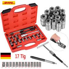 17tlg Diesel Injektoren Einspritzdüse Fräser Satz Dichtsitz Werkzeug Injektor AF