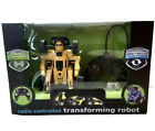 The Black Series Radio Controlled R/C Transforming Robot New 27 MHz