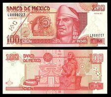 Banco de Mexico 100 Pesos 25-8-2000 Commemorative, P-113 Serial # 0000727 UNC