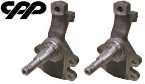 """1964-1972 GM A BODY CHEVELLE GTO DISC BRAKE SPINDLES 2"""" DROP NEW"""